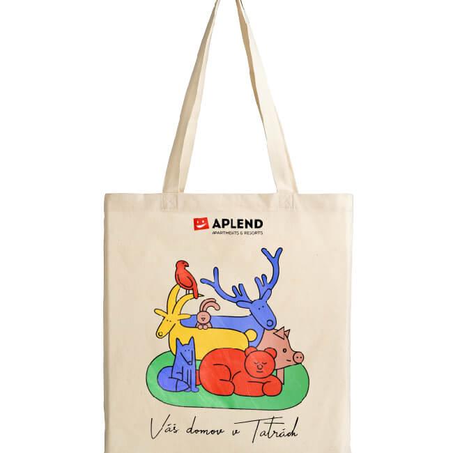 Originálna látková taška od svetovej dizajnérky