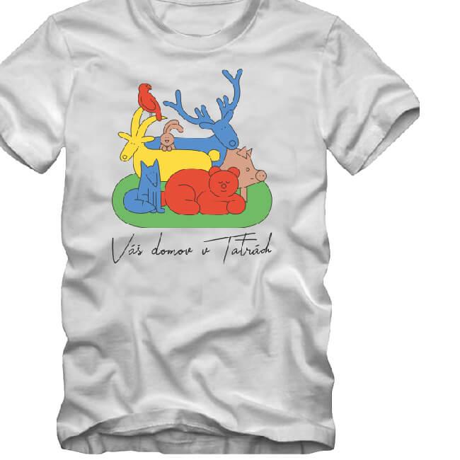 Unikátne dámske / pánske tričko